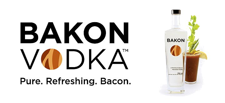 Wódka o samku bekonu (Bacon Vodka)