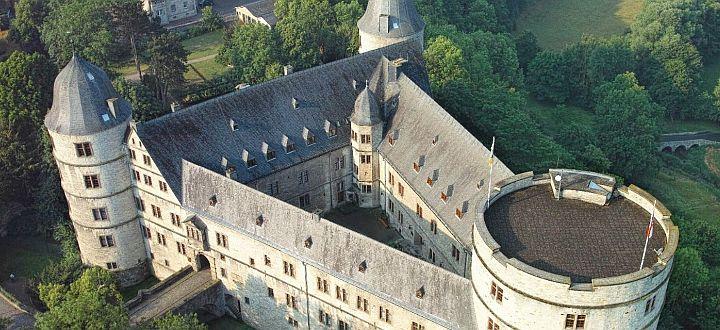 Zamek Wewelsburg - panorama